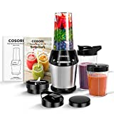 COSORI Blender for Shakes and Smoothies, 10-Piece 800W Auto-Blend High...