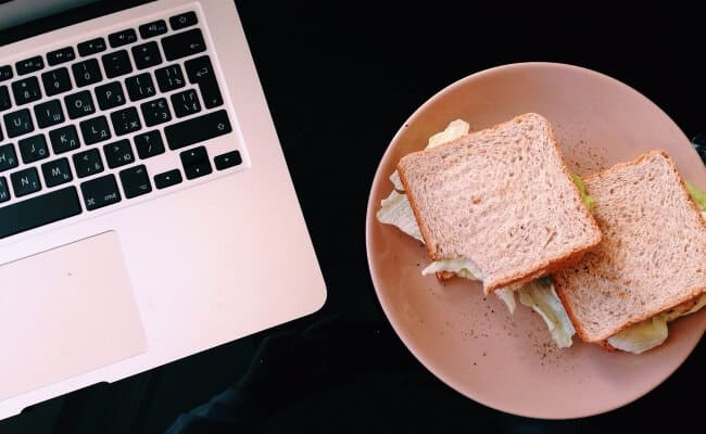 Do Not Eat And Work At The Same Time