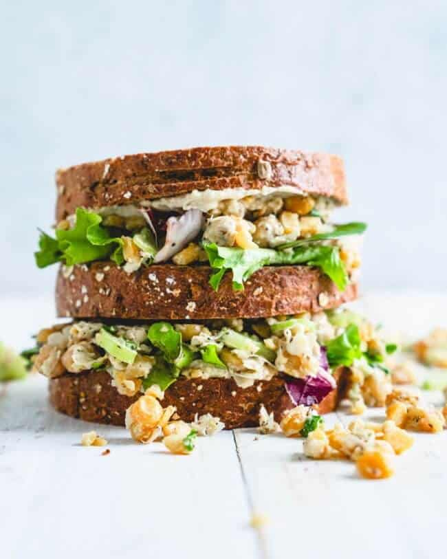 Chickpea Salad Sandwich A Couple Cooks